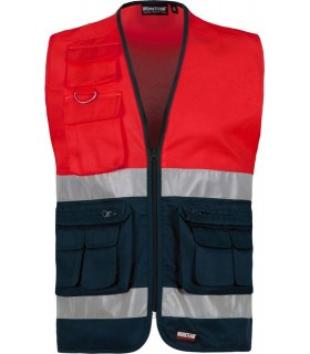 High Visibility red Vest