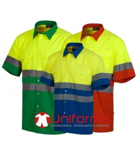 Shirt Short-sleeved high Visibility