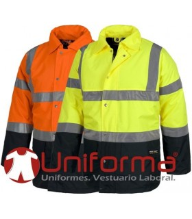 Padded waterproof jacket