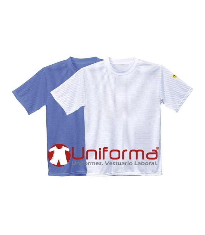Camiseta antiestática ESD en Uniforma.