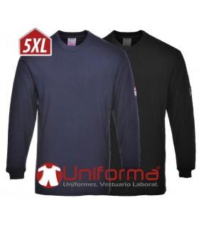 Camiseta de manga larga ignífuga