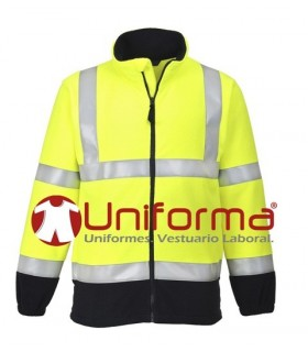 Flame Resistant Anti Static Hi-Vis Fleece