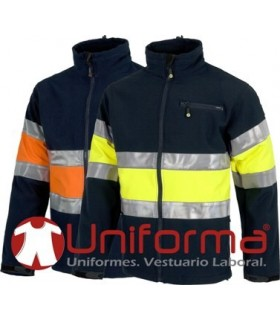 High visibility Work shell fabric.