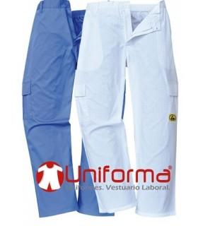 Pantalón disipativo ESD