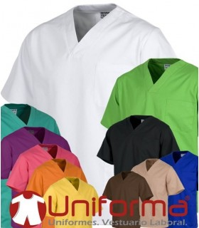 V-neck Coat for Healthcare Uniform.