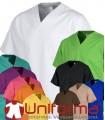 V-neck Coat for Healthcare Uniform.