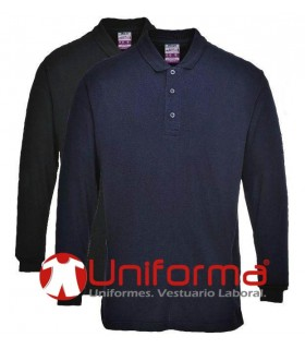 Fireproof polo shirt
