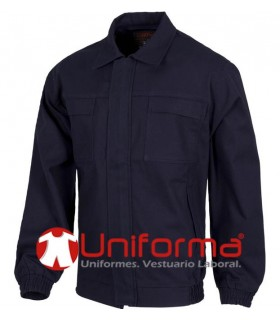 Flame retardant work jacket 100% Cotton.