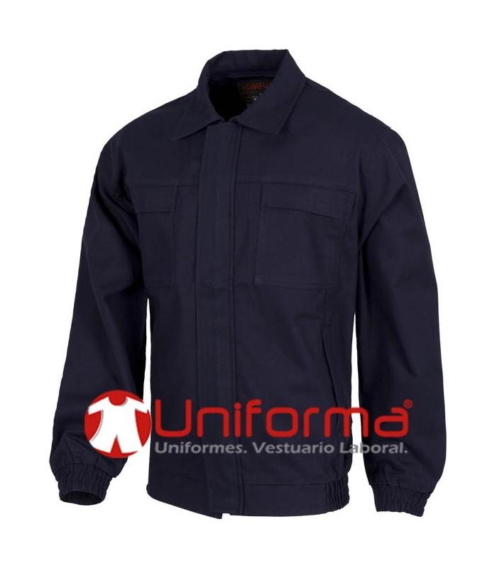 Flame retardant work jacket 100% Cotton.