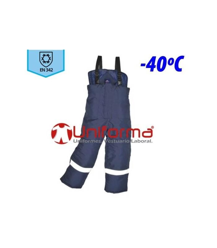 Pantalón de trabajo para cámaras frigoríficas y frío industrial