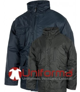 Parka Waterproof and padded.