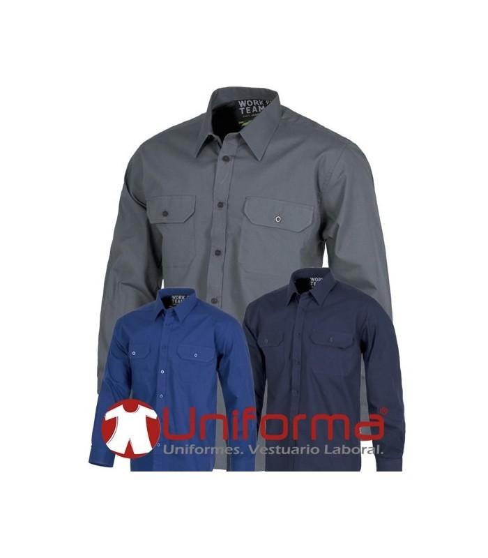 Work shirts long sleeve 100% cotton