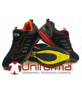 Zapato deportivo de seguridad S1P+HRO+SRC