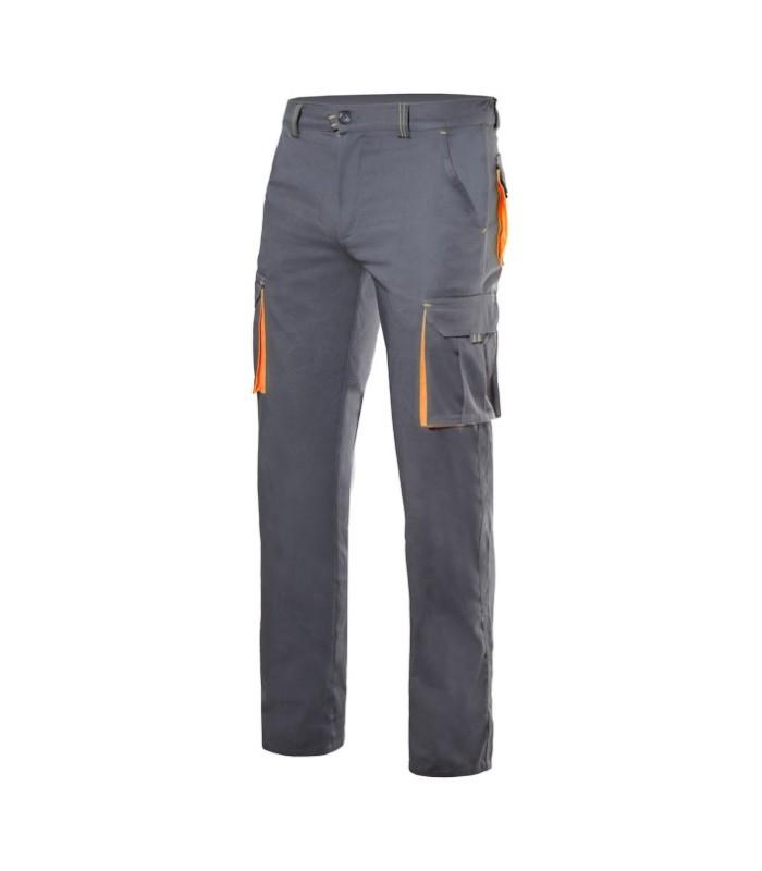 Pantalones de trabajo en tejido elástico en Uniforma