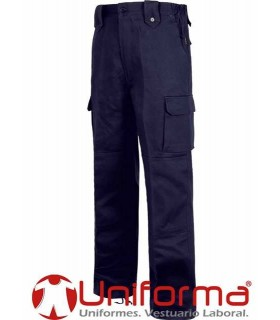 Regular straight fit trousers.