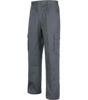 Pantalones De Trabajo Multibolsillos En Uniforma