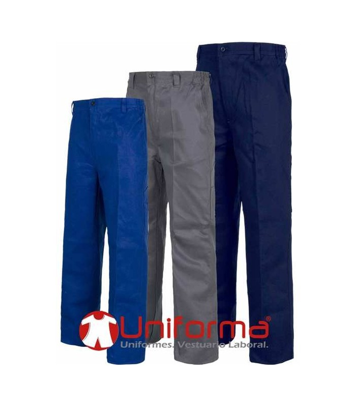 Heavy cotton trousers.