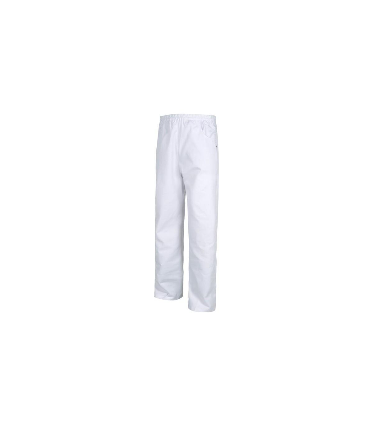 Pantalon De Trabajo Recto Para Uniforme De Cocina