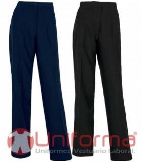 Pantalones de mujer de trabajo pinzas