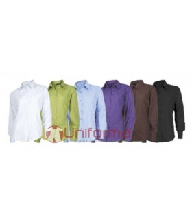 Camisas de mujer entalladas de manga larga