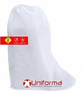 Cubrebotas ignífugo contra productos químicos tipo 5,6