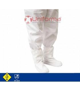 Cubre botas contra riesgo químico y anti estático