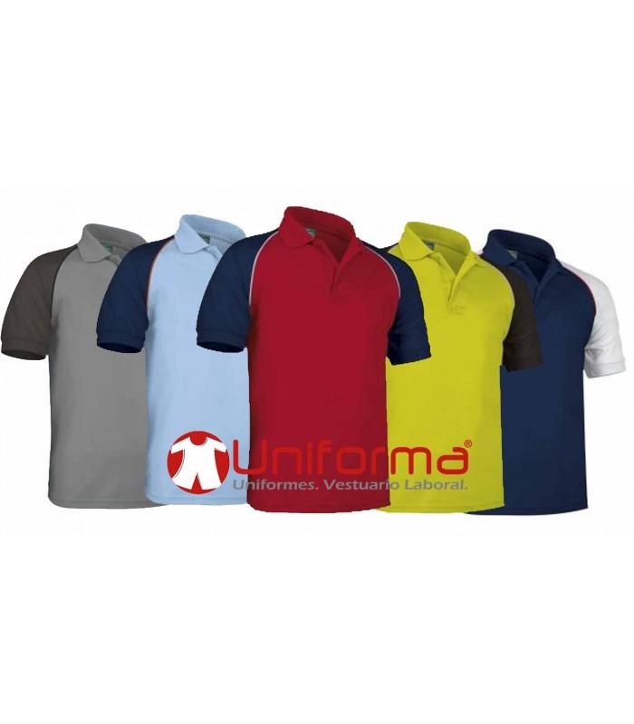 Polos de manga corta para uniformes de trabajo