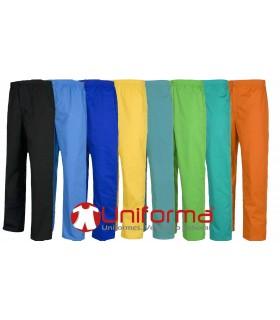 Pantalón sanitario de colores.
