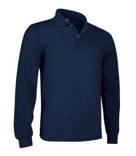 Polo long sleeve cotton