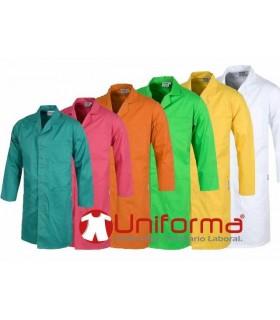 Bata unisex de corchetes en 6 colores