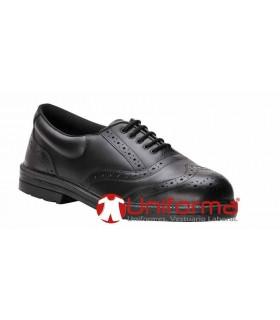 Zapato seguridad ingenieros puntera y plantilla