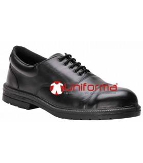 Zapatos de vestir con protecciones de seguridad
