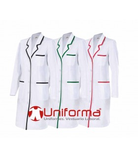 Fabricación de batas de mujer para clínicas y hospitales en uniforma