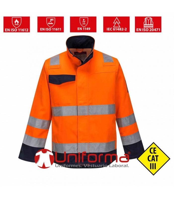 Hi Vis Inherently flame resistant MODAFLAME Jacket