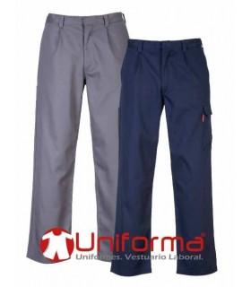 Pantalón Ignífugo y para soldadura en Uniforma color gris