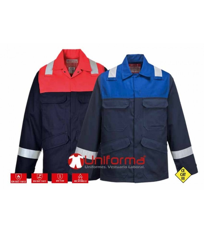 Fire resistant Bizflame Plus Jacket