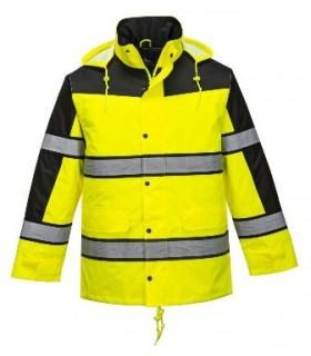 Chaqueta alta visibilidad RWS amarillo reflectante