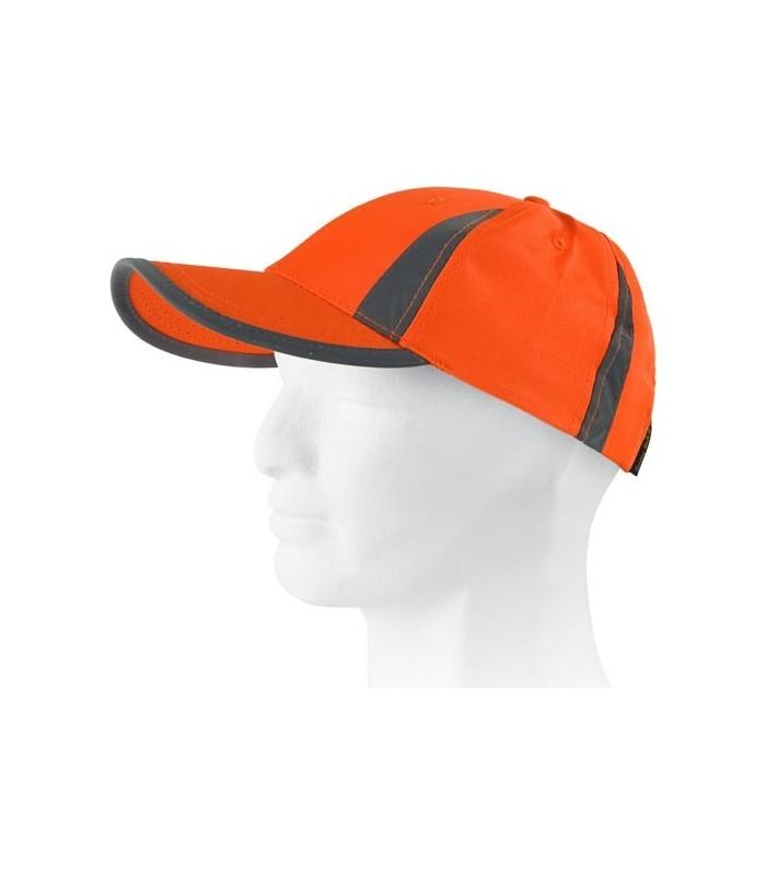 Gorras de alta visibilidad con bandas reflectantes verticales en Uniforma 81eb7d8456f