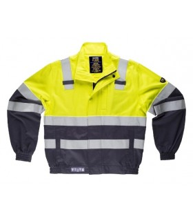 Fire retardant and antistatic jacket