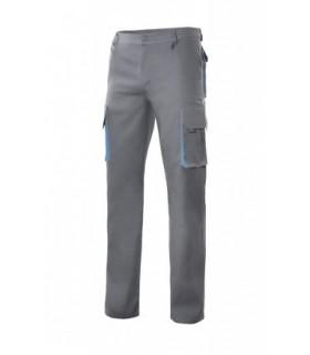 Pantalón de trabajo bicolor