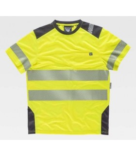 T-Shirt combined with high visibility