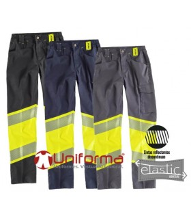 Comfortable high-visibility work pants