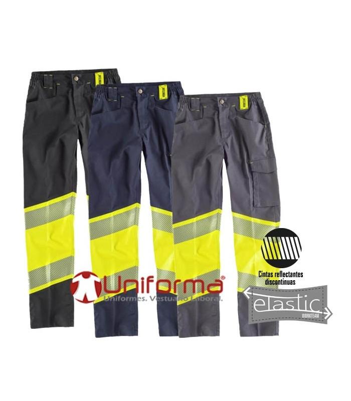 Comfortable high-visibility work pants