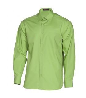 Camisa de manga larga calidad superior uso diario amarilla