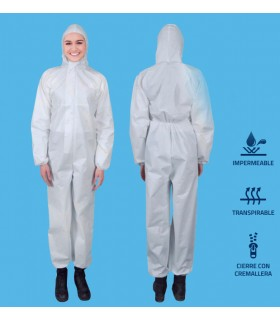 Buzo protector impermeable re-utilizable.