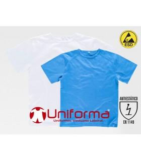 Camiseta Disipativa ESD