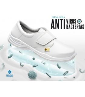 Zapato contra virus y bacterias