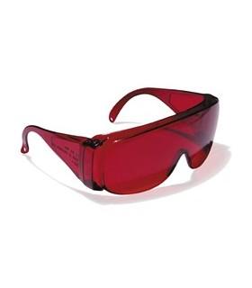 Gafa ocular rojo laser