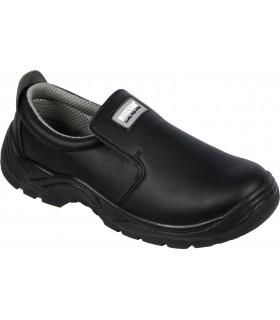 Zapatos microfibra sin cordones.