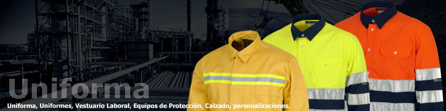 Camisas de trabajo reflectantes de alta visibilidad en Uniforma